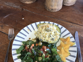 Eating Farm to Table at Finca Ometepe